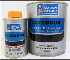Lazzuril Verniz 2 k 8500 + Catalizador
