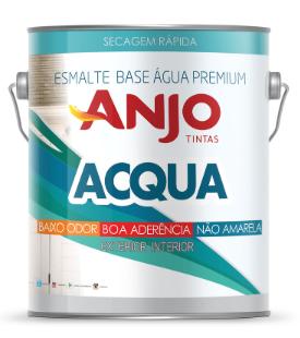 Anjo Esmalte Base Agua Premium Brilho 3,6L