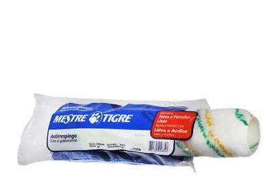 Rolo De Lã Para Pintura Anti-respingo Tigre Ref. 1374 - 23 Cm