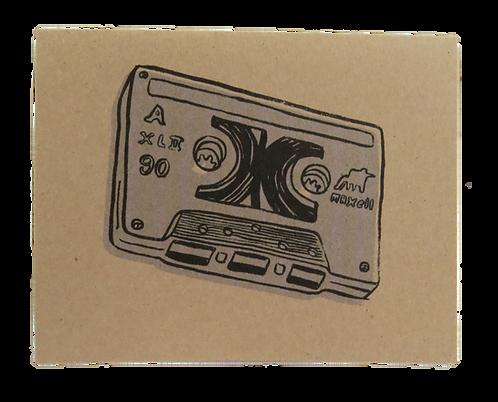 BLANK TAPE // CARD