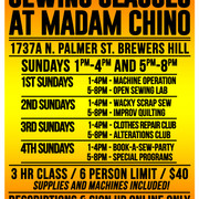 MADAM CHINO CLASSES