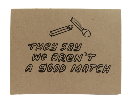 BAD MATCH // CARD