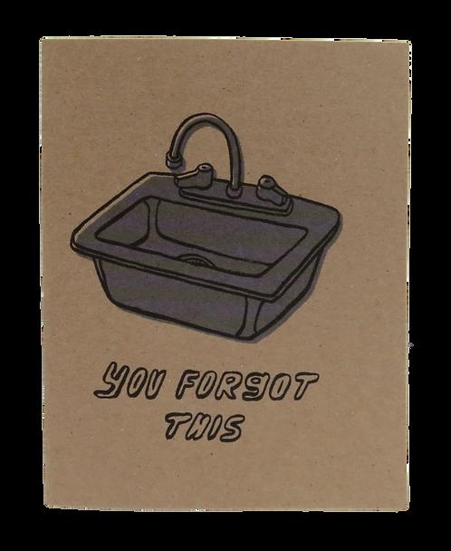 KITCHEN SINK // CARD