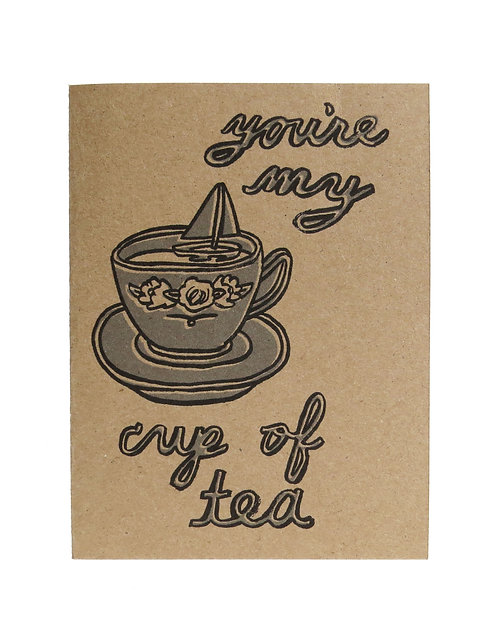 MY CUP OF TEA // CARD