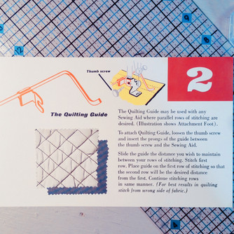 HOW TO: Quilting Guide Foot