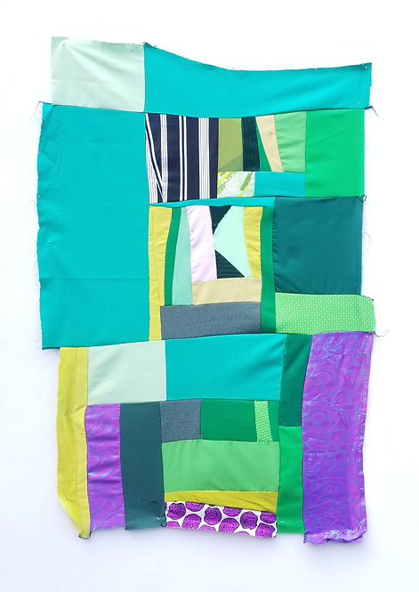 2nd Sundays 5pm-8pm : IMPROV PATCHWORK // ZERO-WASTE QUILTED SEWN OBJECTS