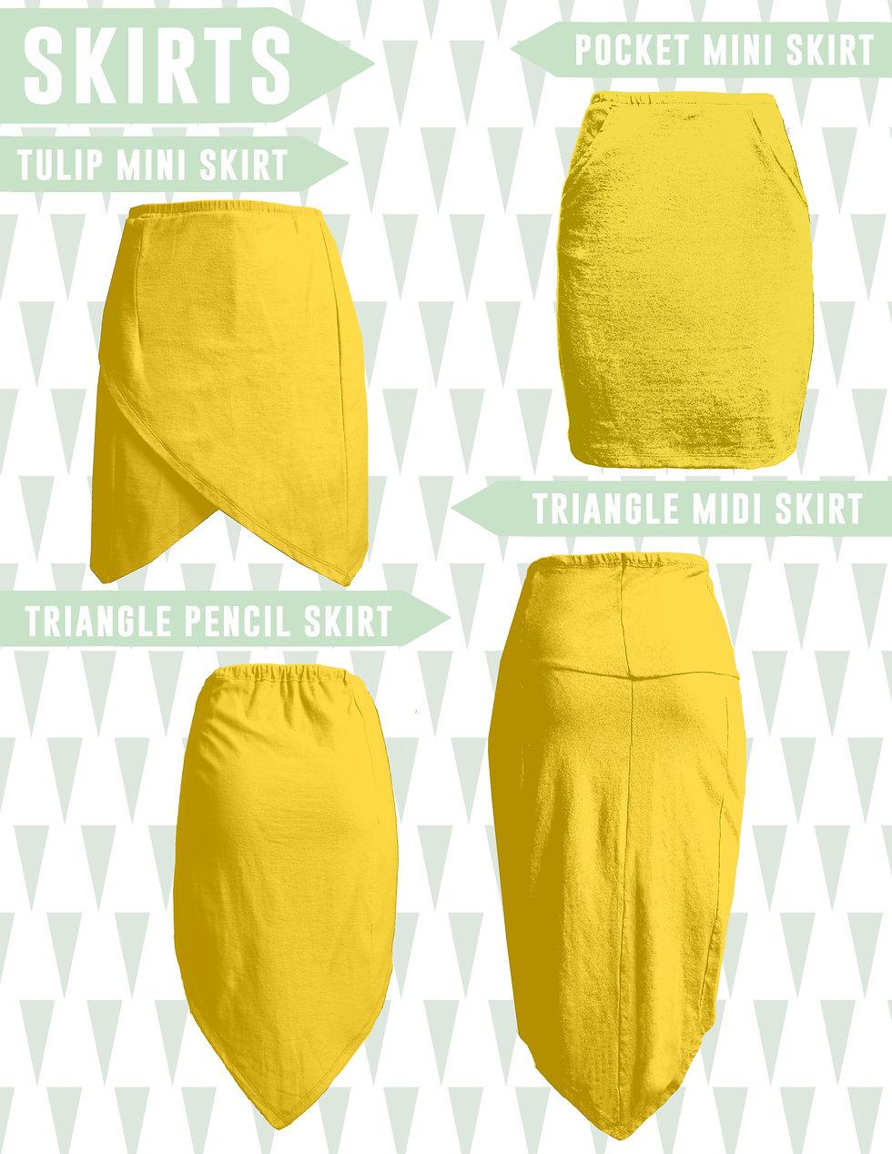 Ecofashion Brand Look Book Skirts