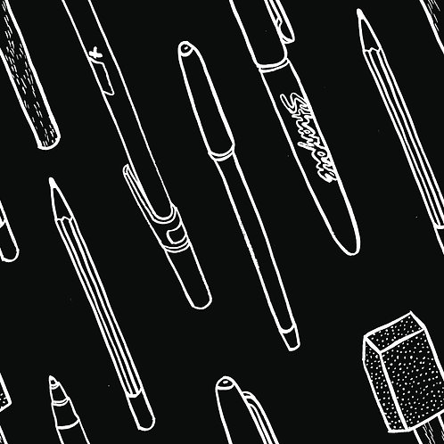 WRITING IMPLEMENTS // FABRIC