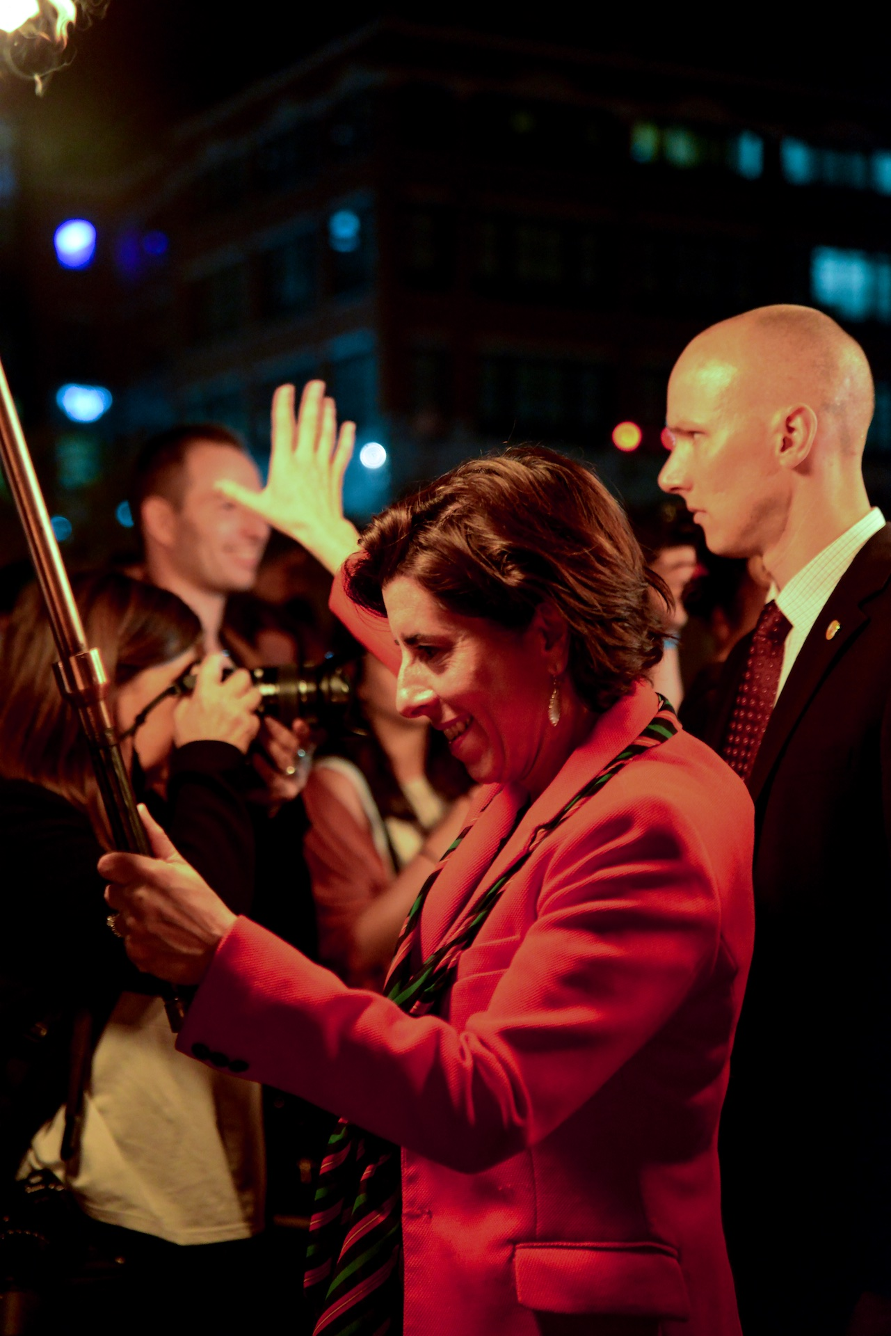 rhode-island-governor-gina-raimondo-helping-lead-the-way-to-the-alex-and-ani-city-center-during-the-