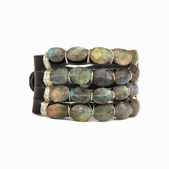 Layered Stone Bracelet