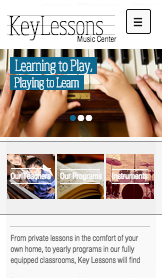 Community & Education website templates – Music School