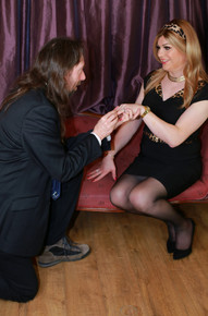 Slipping the ring on...