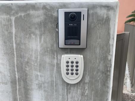 《安全・便利》な【電気錠システム】の導入工事
