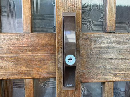 【カギ交換】木製の引き戸