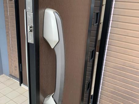 【電気錠】オートロック玄関ドア