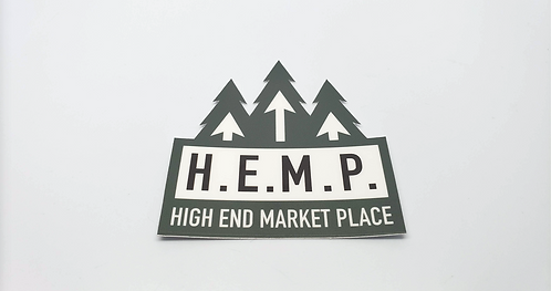 Vinyl Sticker HEMP