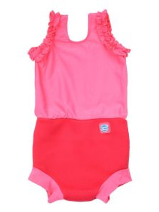 Splash About Happy Nappy Costume Pink Geranium