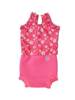 Splash About Happy Nappy Costume Pink Blossom