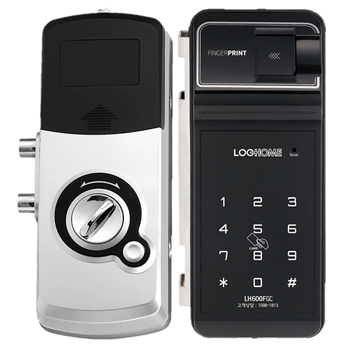 LogHome Korea Digital Door Lock for Glass Doors LH600FGC