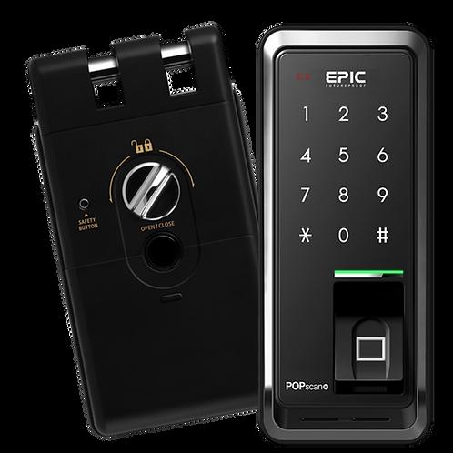 Epic Korea PopScan Fingerprint Digital Door Lock - Hook Type for Sliding Doors
