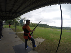 Clay shooting with the Super Vinci