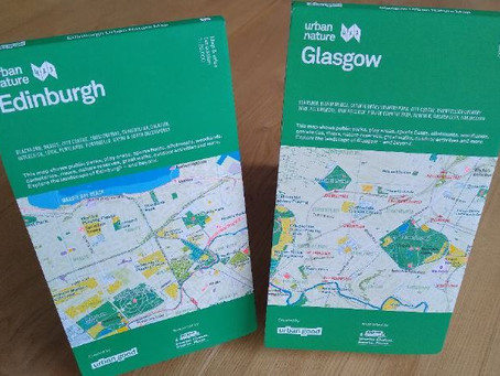 Get your fantastic Urban Nature Map of Glasgow