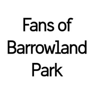 Fans of Barrowland Park