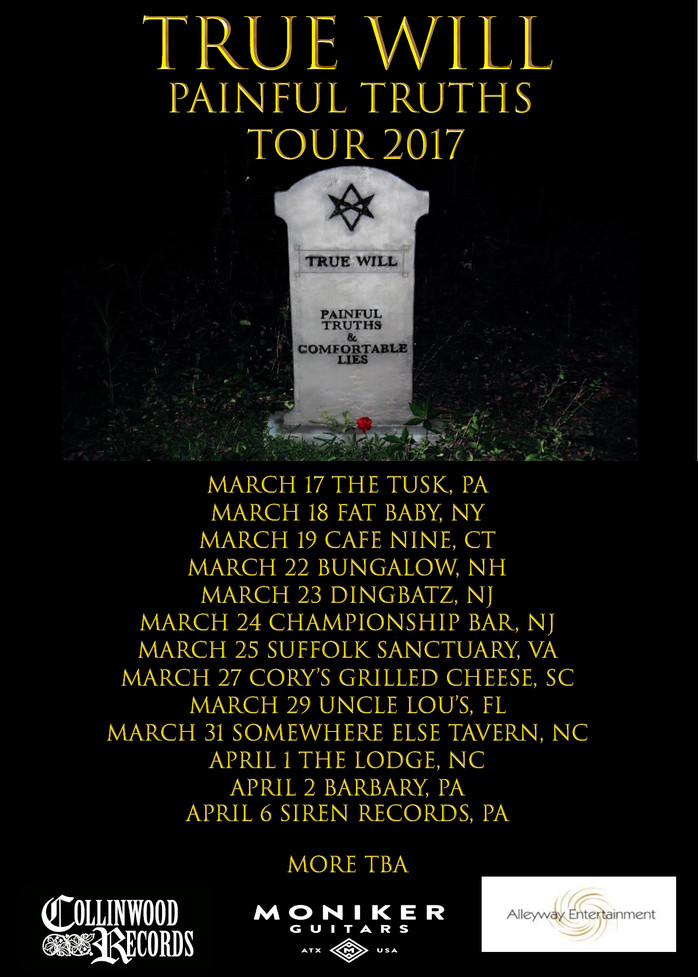 Painful Truths Tour kicks off March 17th!