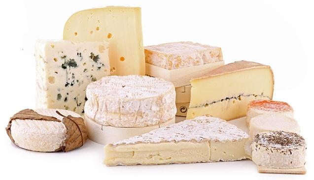 sélection de fromages fermiers