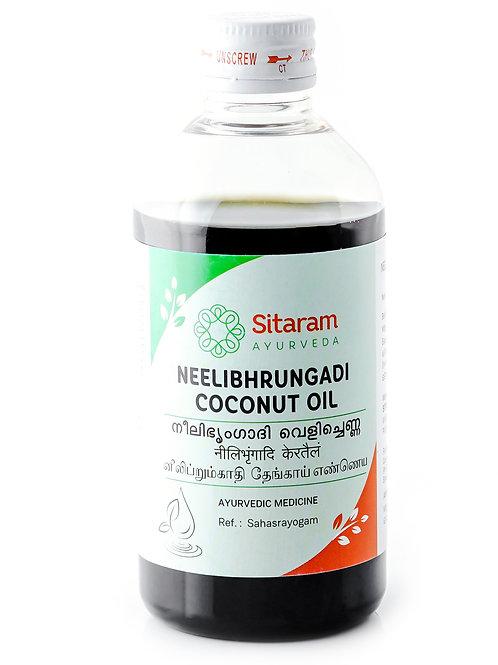 Sitaram Neelibringadi Coconut Ayurvedic Herbal Oil 200ml