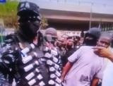 Battle ready, over kitted, stern Lagos Police on show of force to crush Lekki civil protests.