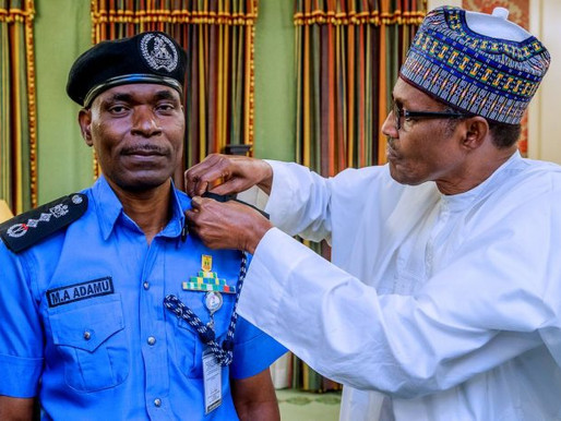 Law permits me to leave office with Buhari in 2003 or even beyond – IGP Mohammed Adamu.