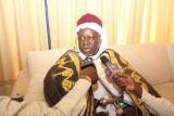 Shehu of Borno, Abubakar Umar-Garbai laments Boko Haram was brought by a foreigner.