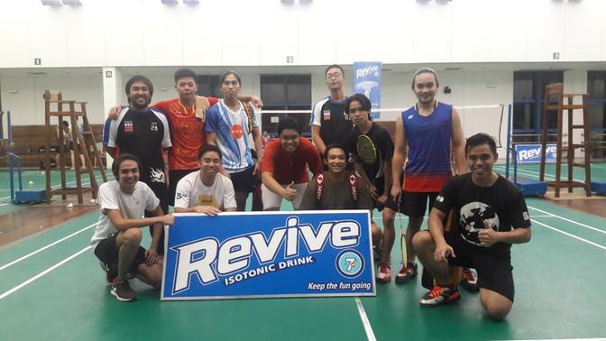 CHMS Alumni Association Badminton Tournament P.T.K Cup 2017