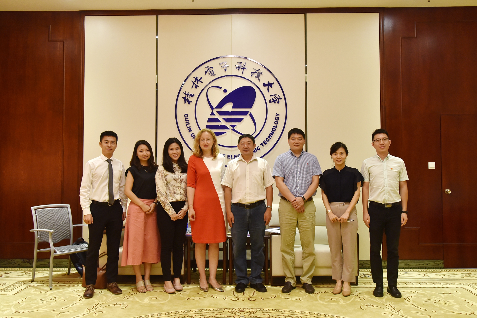 LCB visit to Guilin University of Electronic Technology