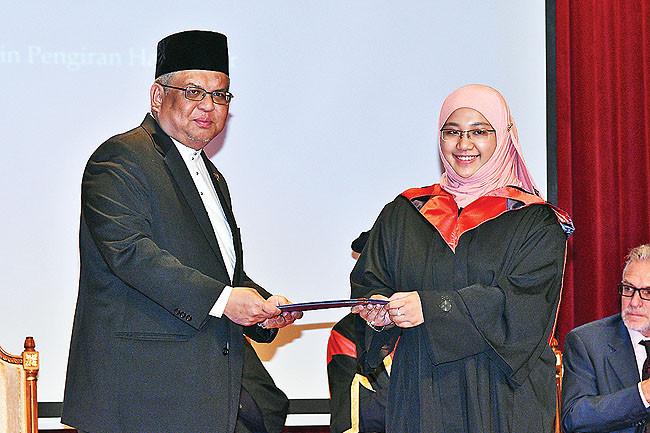 Practice lifelong learning, graduates told