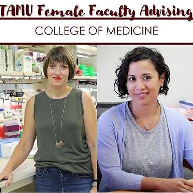TAMU Female Faculty Advising w/ College of Medicine