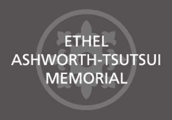 2021 Ethel Ashworth-Tsutsui Memorial Lecture and Awards Ceremony