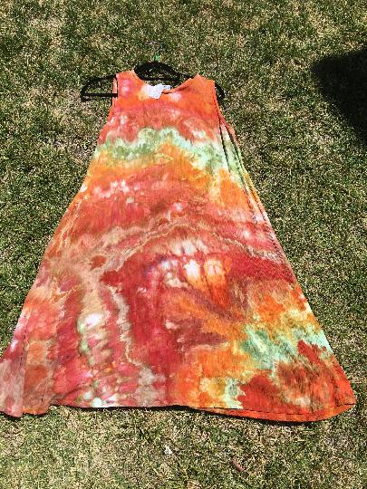 Bright Fall Colors dress