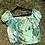 Thumbnail: Green/blue Ice dye eyelet crop top
