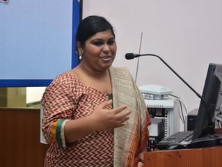 JSCOR fellow organizes seminar in India