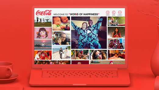 COCA-COLA MOMENTS OF HAPPINESS