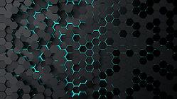 Abstract technological hexagonal backgro