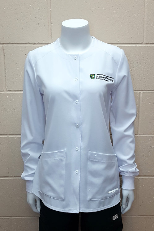 Women's Snap Front Warm-up Jacket