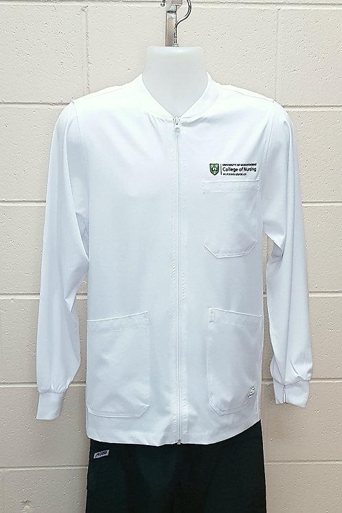 Men's Zip Front Warm-up Jacket