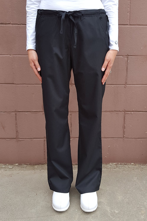 Straight Drawstring Pant
