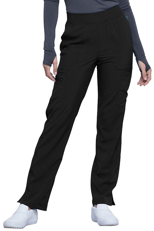 Mid Rise Tapered Leg Infinity Pant