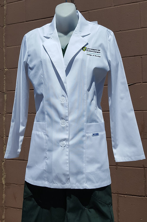 Women's Fitted Lab Coat