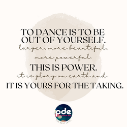 To Dance Quote
