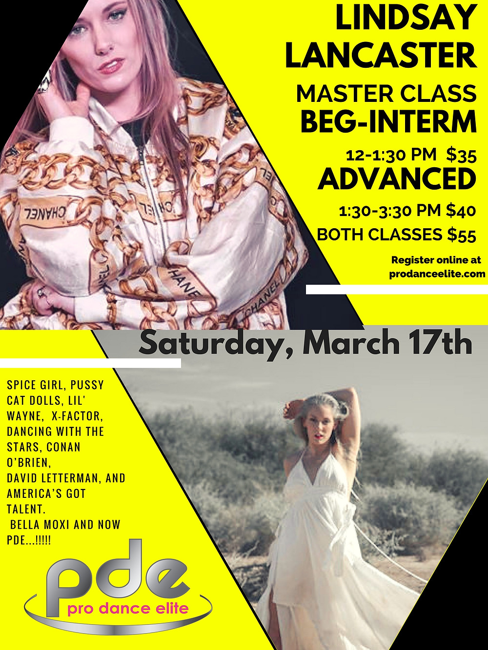 Saturday, March 17th